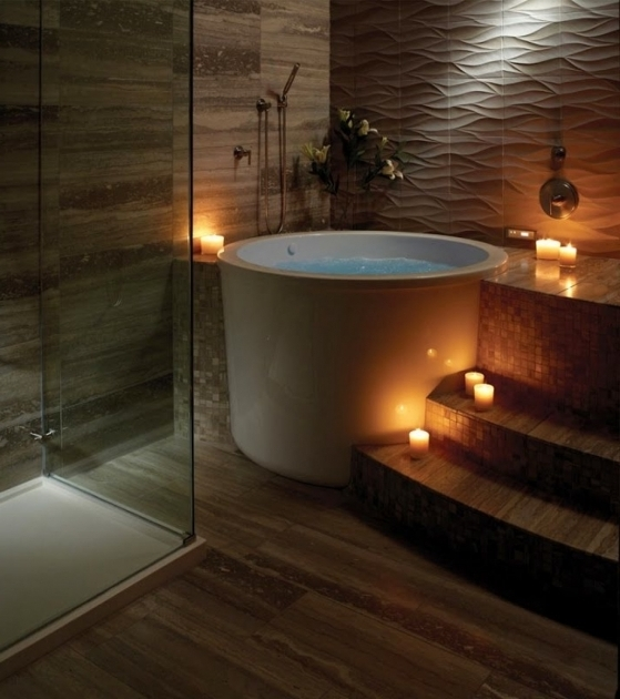 japanese soaking tub. Wonderful Japanese Style Soaking Tub Design  Interesting And Steps Pictures Bathtub Designs