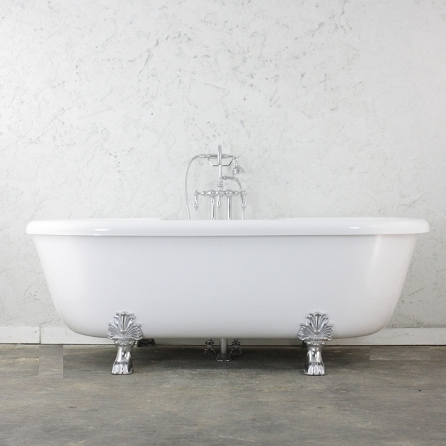 Wonderful Jetted Clawfoot Tub 75 Heated Air Jetted Double Ended Clawfoot Tub