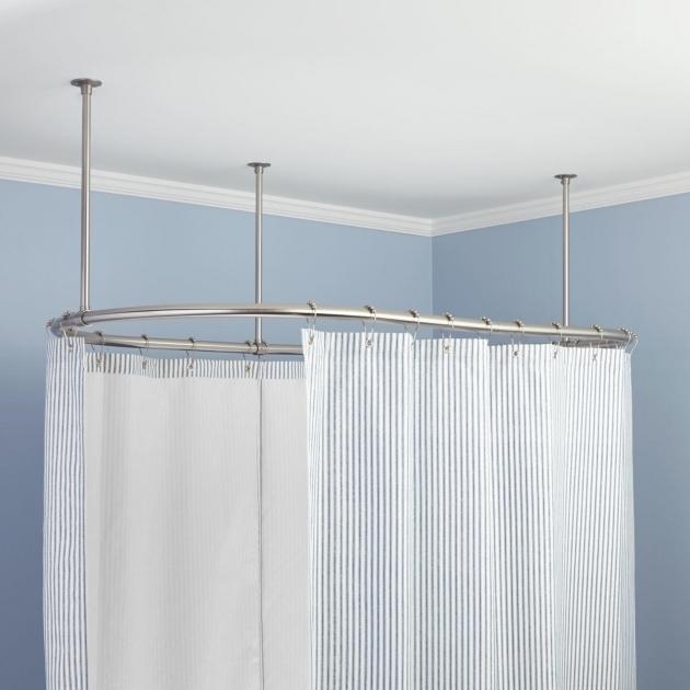 Shower Rod For Clawfoot Tub Bathtub Designs