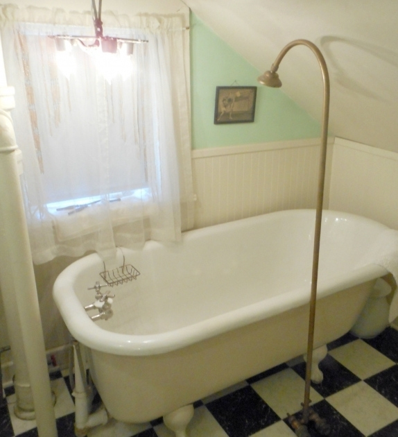 Wonderful Vintage Clawfoot Tub For Sale Vintage Brass Shower Head And Faucet For Cast Iron Tub Faucet