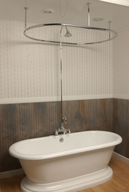 Alluring Clawfoot Tub Shower Combo Simple Clawfoot Tub Shower Installing A Clawfoot Tub Shower