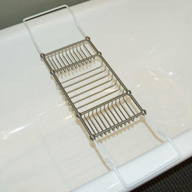 Alluring Shower Caddy For Clawfoot Tub Accessories Signature  Hardware Bathtub Designs