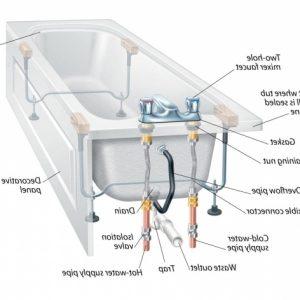 Bathtub Drain Diagram