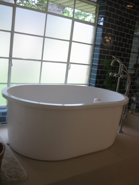 Awesome Freestanding Soaking Tub For Two 60 Inch With Lots Of Legroom  Bathtub Designs