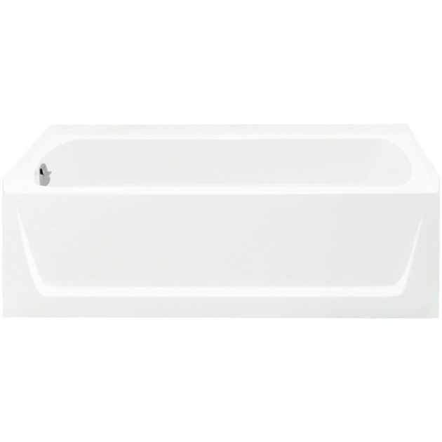 Awesome Sterling Bathtubs Sterling Ensemble 5 Ft Right Drain Bathtub In White 71171120 0