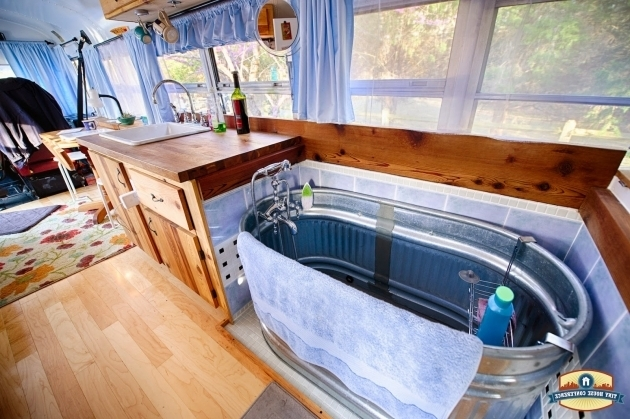Beautiful Rv With Bathtub The 15 Most Glamorous Rv Bathrooms On The Planet Rvshare