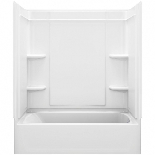 Fascinating Sterling Bathtubs Sterling Ensemble Medley 60 In X 3125 In X 77 In 4 Piece