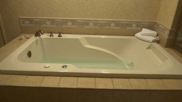 Image of Aquaglass Whirlpool Tub How To Activate The Jacuzzi Water Jets In The Sunset Stations