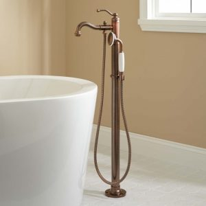 Clawfoot Tub Faucet Floor Mount
