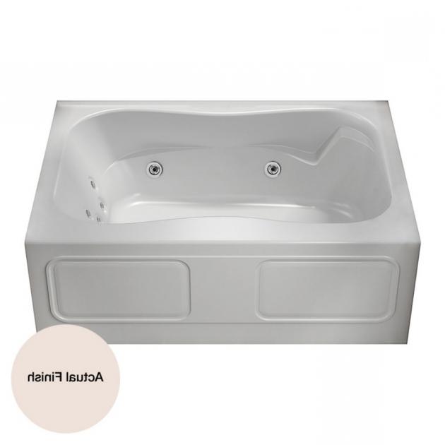 Incredible Aquaglass Whirlpool Tub Shop Aqua Glass 59 78 In L X 42 In W X 21 14 In H 1 Person