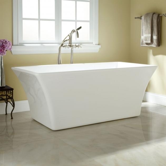Incredible Stand Alone Bathtubs Draque Acrylic Freestanding Tub Bathroom
