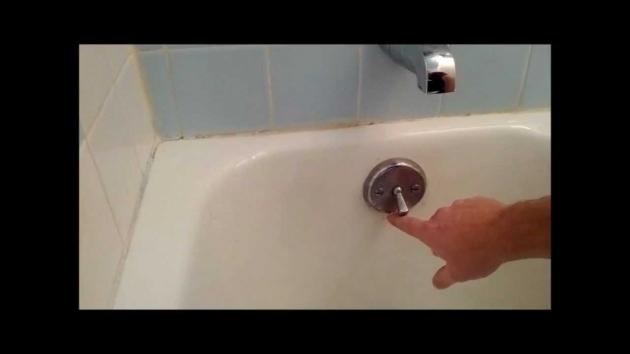 Inspiring Bathtub Won T Drain At All Bath Tub Trip Lever Bath Tub Stopper Replacement Or Adjustnment