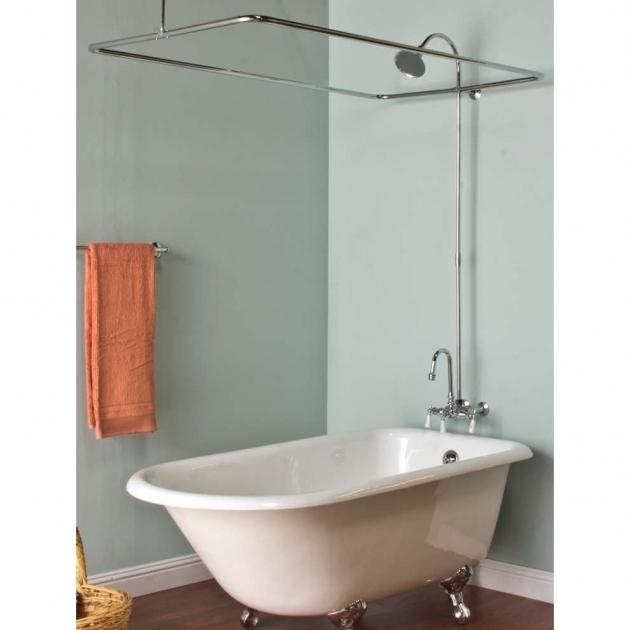 Inspiring Clawfoot Tub Shower Combo Clawfoot Tub Shower Kits