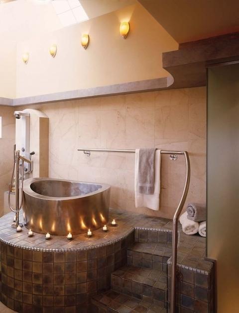 Japanese Soaking Tub For Small Bathroom. Inspiring Japanese Soaking Tubs For Small Bathrooms  Baths Outdoor Tub Bathtub Designs