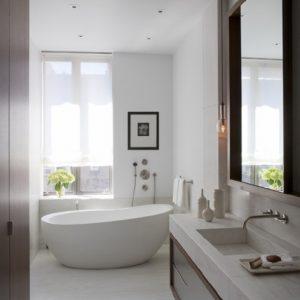 Narrow Bathtub
