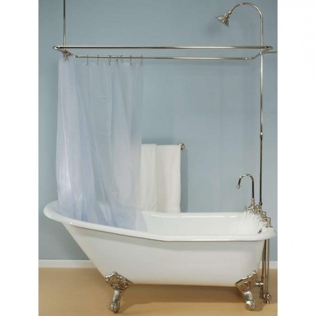 Used Clawfoot Tub Shower Kit - Bathtub Designs