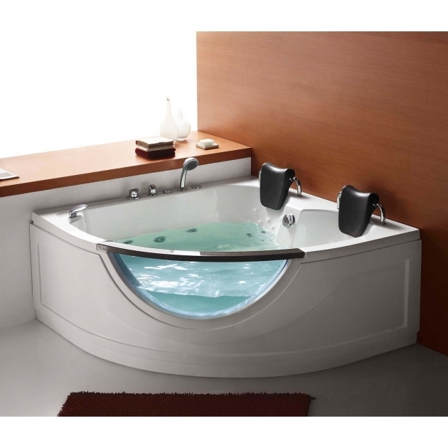 Inspiring Whirlpool Tubs For Sale Steam Planet Mg015 59 In Two Person Corner Whirlpool Tub Hayneedle