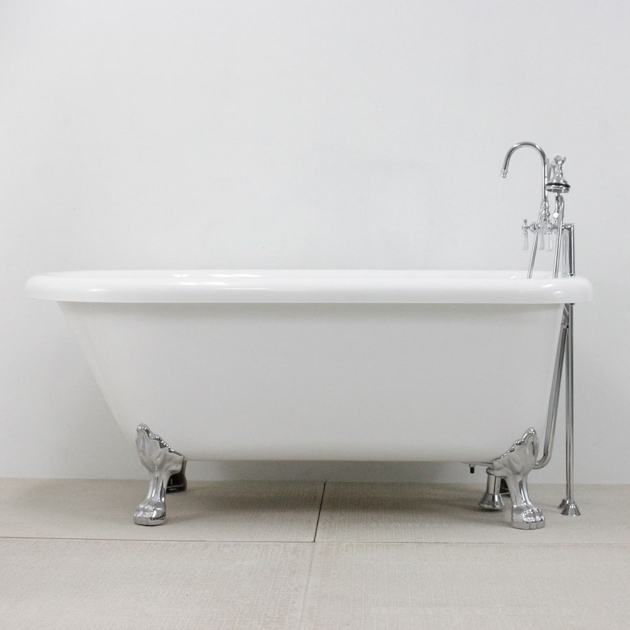 Picture of Classic Clawfoot Tubs Hlfl59fpk 59 Hotel Collection Classic Clawfoot Tub And Faucet Pack