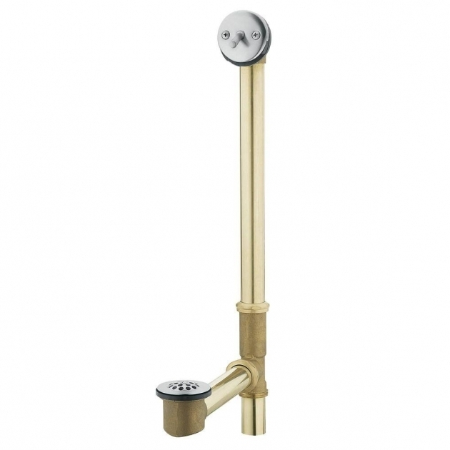Remarkable Bathtub Drain Assembly Moen Tub Drain Brass Tubing Whirlpool  With Trip Lever Drain