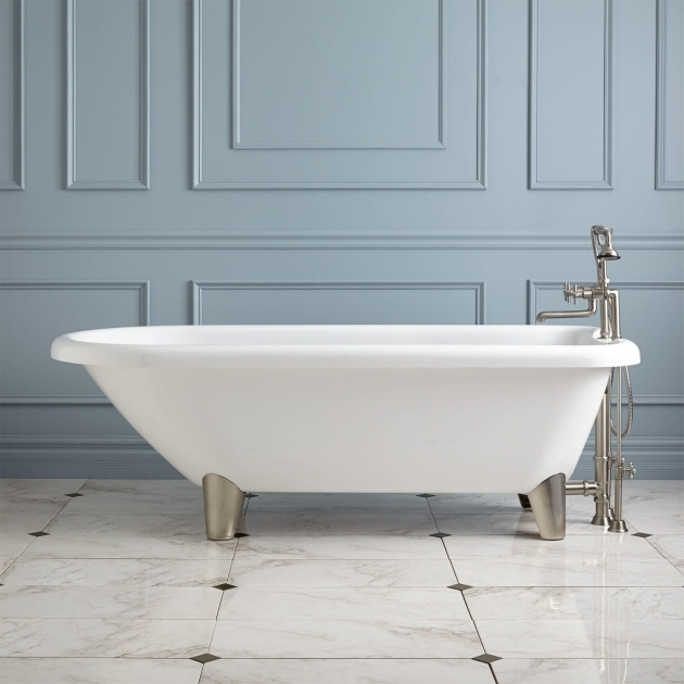 Remarkable Clawfoot Tub Legs 70 Hoyt Acrylic Clawfoot Tub Modern Feet Bathroom