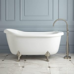 Clawfoot Tub With Jets