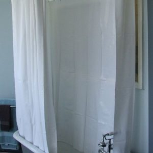 Clawfoot Tub Shower Curtains