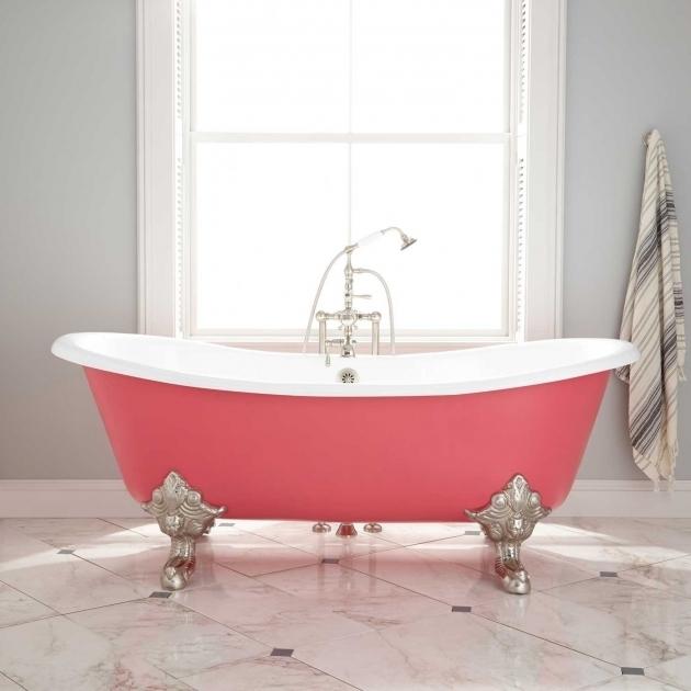 Colored Clawfoot Tub Bathtub Designs