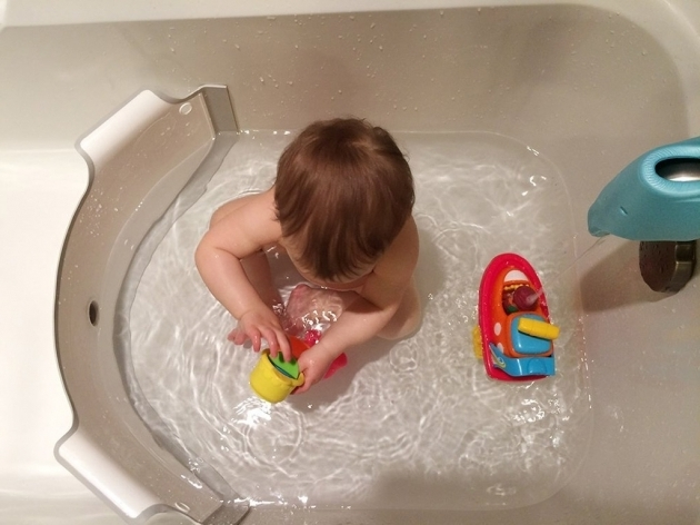 Stylish Bathtub Divider For Baby Badam Bathtub Divider The Green Head