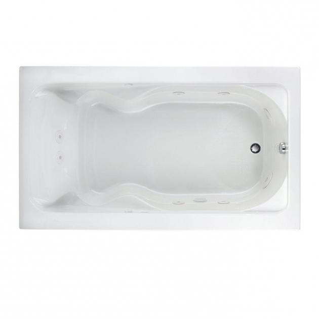 Amazing American Standard Everclean Whirlpool Tub American Standard Everclean 5 Ft X 3275 In Reversible Drain