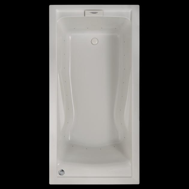 Amazing Everclean Whirlpool Tub Evolution 72x36 Inch Deep Soak Everclean Air Bath American Standard