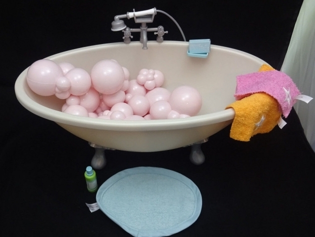Fascinating American Girl Doll Bathtub American Girl Doll Bubble Bath Tub Gray Footed For 18 Doll Bath