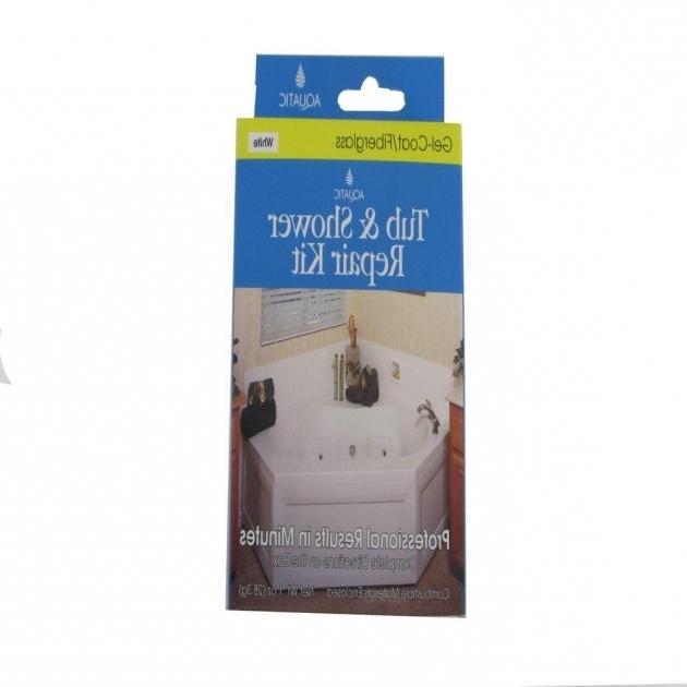 Fascinating Fiberglass Bathtub Repair Kit Aquatic Gelcoat Repair Kit In White 35rkwh The Home Depot