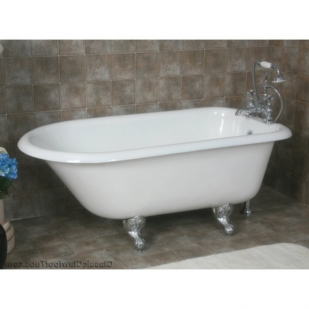 Fascinating Refinished Clawfoot Tub For Sale Cast Iron Clawfoot Tubs Classic Clawfoot Tub