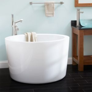 Small Japanese Soaking Tub