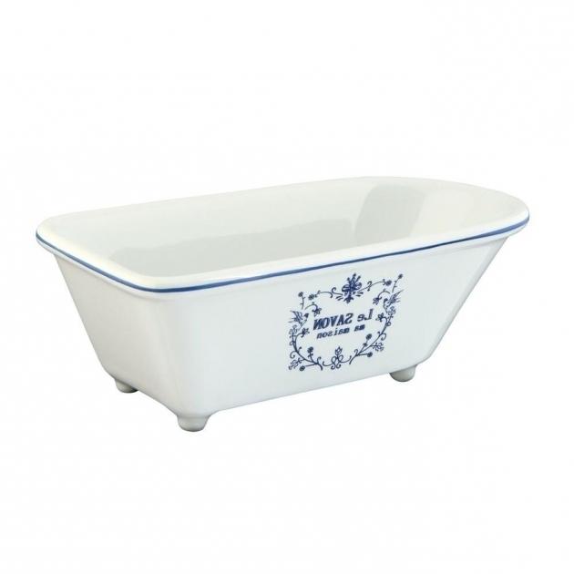 Inspiring Clawfoot Tub Soap Dish Le Savon Classic Claw Foot Tub Soap Dish In White Hbatubrw The
