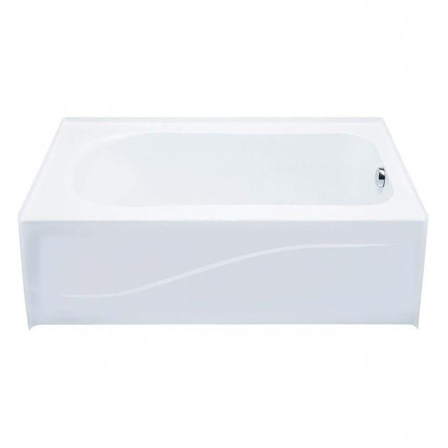 Inspiring Foot Soaking Tub Aquatic 6030ais 5 Ft Left Drain Acrylic Soaking Tub In White