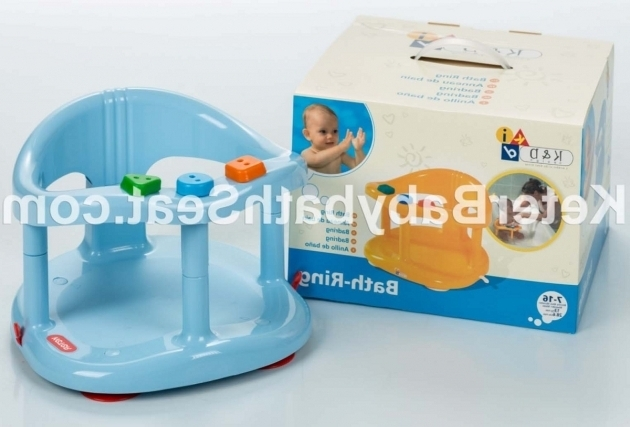 Picture of Baby Bathtub Ring Keter Ba Bath Tub Ring Seat Color Blue