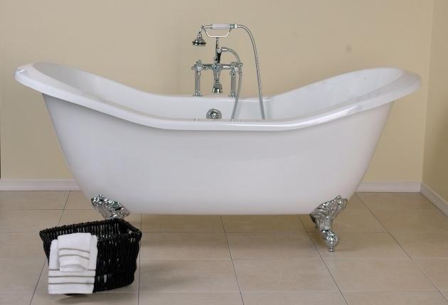 Remarkable Clawfoot Tub Shampoo Holder Bathroom Gorgeous Clawfoot Bathtub For Luxury Bathroom Idea