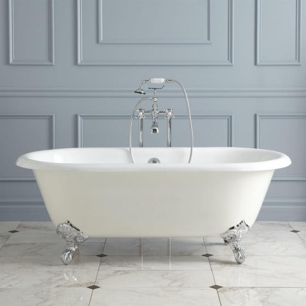Remarkable Modern Clawfoot Tub Ralston Cast Iron Clawfoot Tub Imperial Feet Bathroom