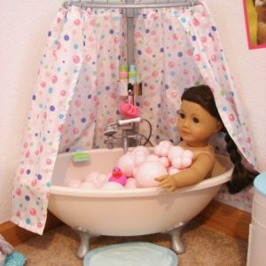 American Girl Doll Bathtub